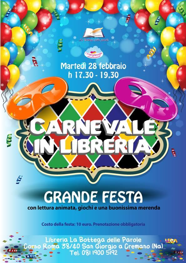 Festa di Carnevale in libreria!