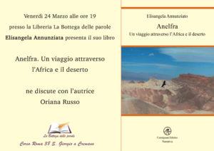 Anelfra. Un viaggio attraverso  l'Africa e il deserto